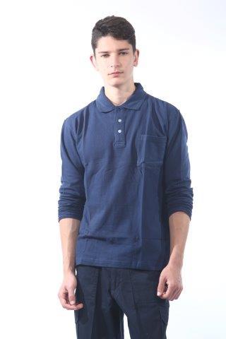 חולצת פולו עם שרוול ארוך